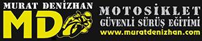 Murat Deni̇zhan Motosi̇klet Güvenli̇ Ve İleri̇ Sürüş Eği̇ti̇mi̇ Logo